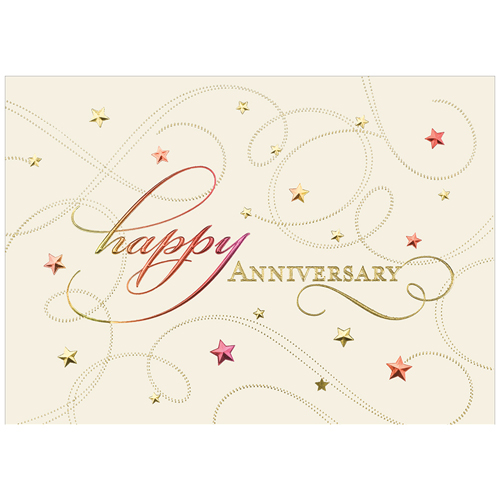 Blank Anniversary Card Sets