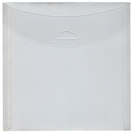 Square Clear 6 1/8 x 6 1/8 Tuck Flap Envelopes
