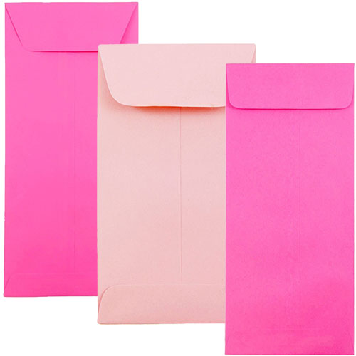 Pink Policy Envelopes