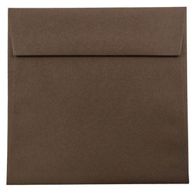 Brown 6 1/2 x 6 1/2 Square Envelopes
