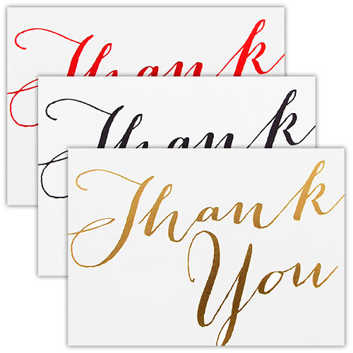 Scripted Thank You Card Sets