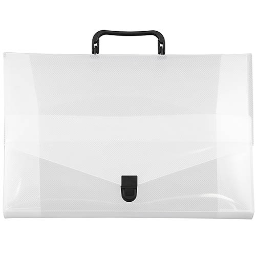 Small Plastic Briefcase - 10 x 15 x 2