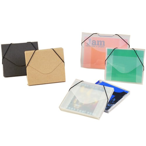CD Case with Elastic (5 x 5 5/8 x 3/8)