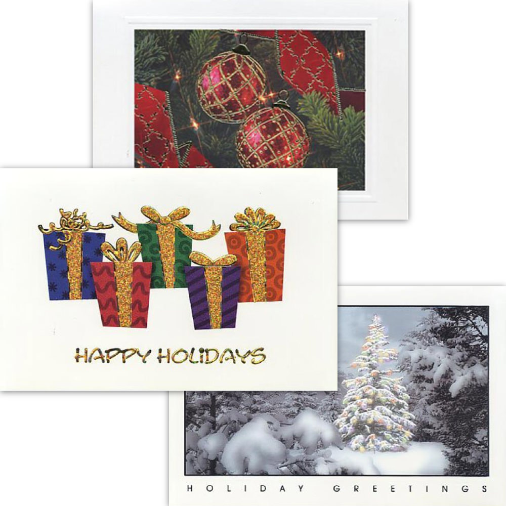 Packs of Christmas Cards