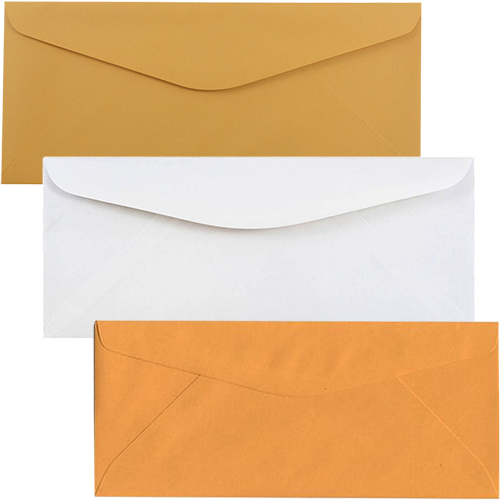 White & Manilla Commerical Style Envelopes