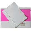 Glossy White Folders & Matching Envelopes & Paper