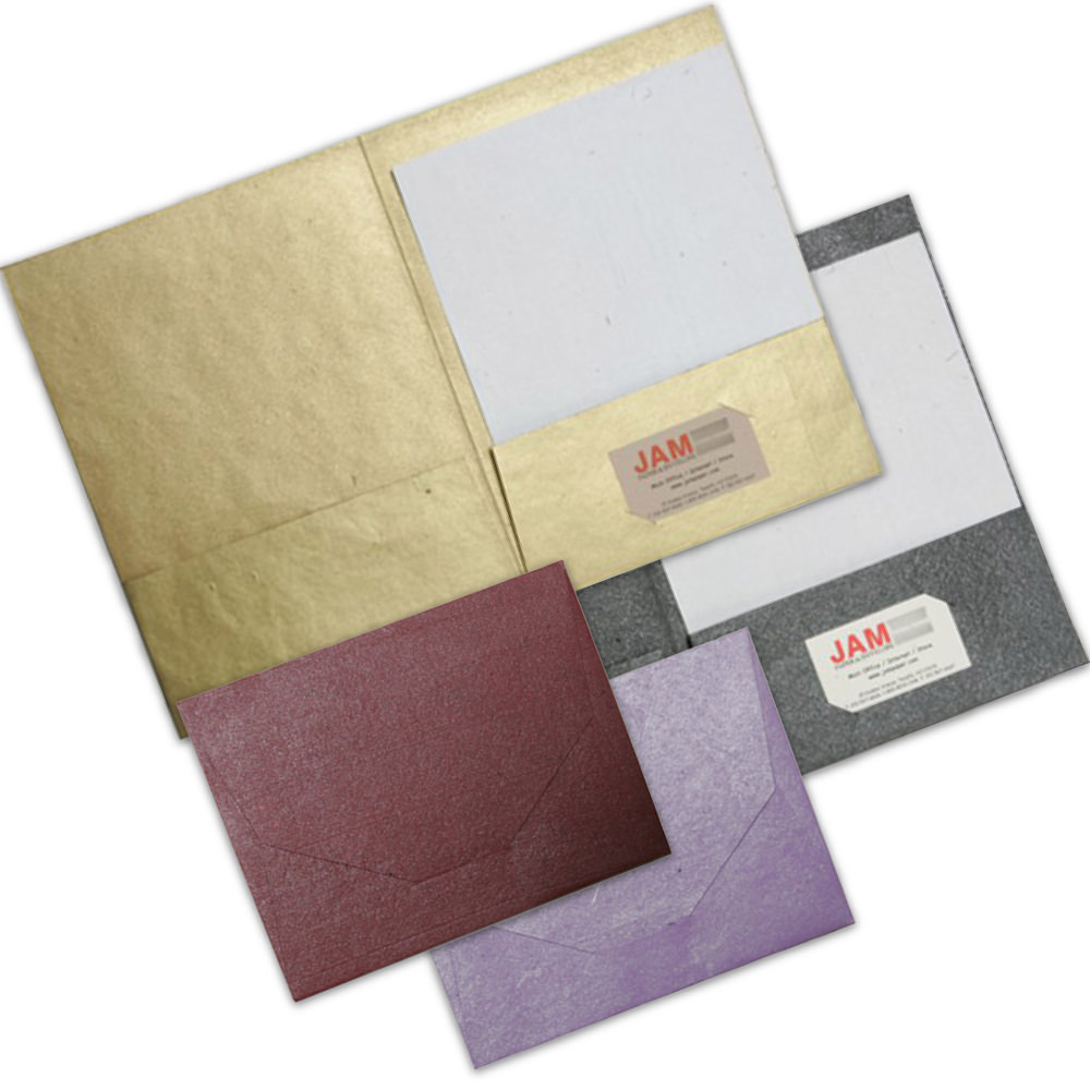 Metallic Indian Handmade Folders & Wallets