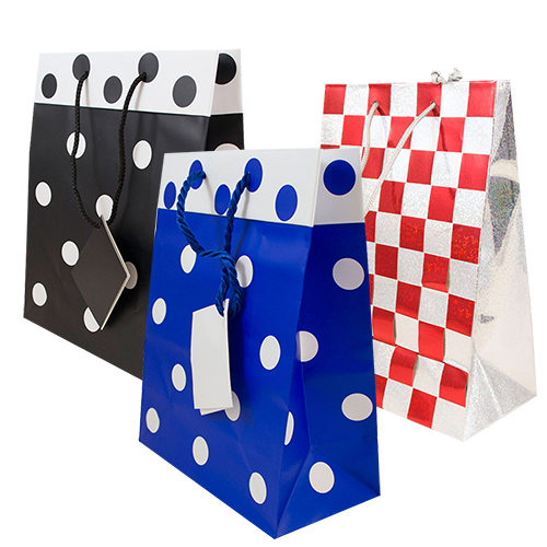 Polka Dot & Checkered Bags