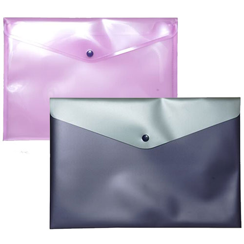 Plastic Snap Closeout Envelopes