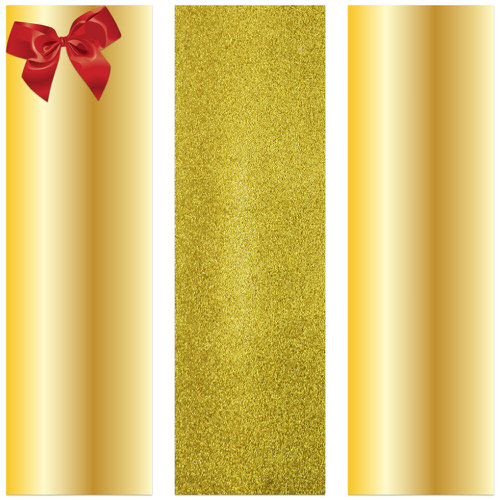 Gold Wrapping Paper Rolls