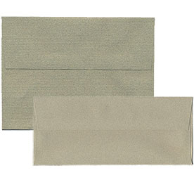 Sage Green Recycled Passport Envelopes & Paper