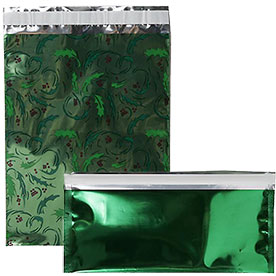 Green Foil Envelopes