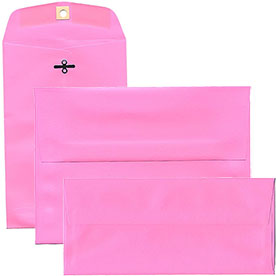 Ultra Pink Brite Hue Envelopes & Paper
