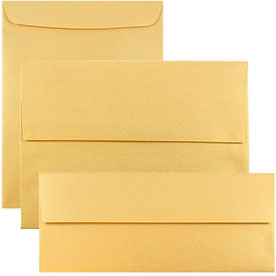 Gold Stardream Envelopes & Paper