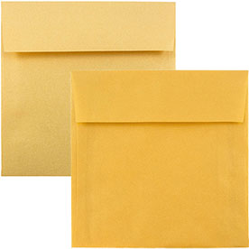 Gold Square Envelopes