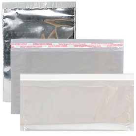 Silver Foil Envelopes with Self Adhesive Closure