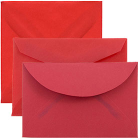 Red Tiny Envelopes