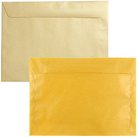 Gold Large Paper Booklet Envelopes