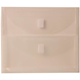 Clear Muti Pckt Envelopes - VELCRO® Brand Closure