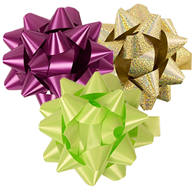 Large Gift Bows - 7 Inch Diameter