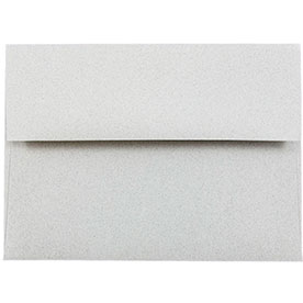 Silver & Grey A6 Envelopes - 4 3/4 x 6 1/2