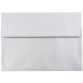 Silver & Grey A7 Envelopes - 5 1/4 x 7 1/4