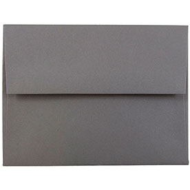 Silver & Grey A10 Envelopes - 6 x 9 1/2