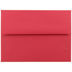 Red A6 Envelopes - 4 3/4 x 6 1/2