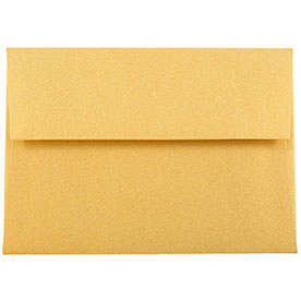 Gold 4bar A1 Envelopes - 3 5/8 x 5 1/8