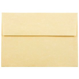 Gold A7 Envelopes - 5 1/4 x 7 1/4