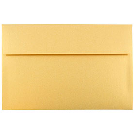 Gold A10 Envelopes - 6 x 9 1/2