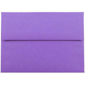 Purple A7 Envelopes - 5 1/4 x 7 1/4