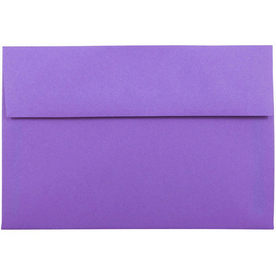 Purple A8 Envelopes - 5 1/2 x 8 1/8