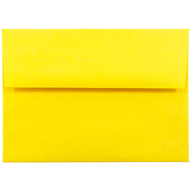 Yellow A2 Envelopes - 4 3/8 x 5 3/4