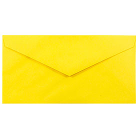 Yellow Monarch Envelopes - 3 7/8 x 7 1/2