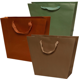 Trapezoid Matte Gift Bags
