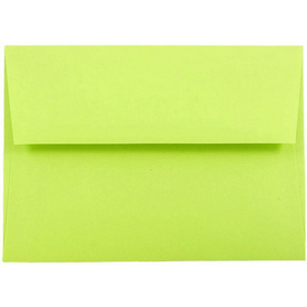 Green A7 Envelopes - 5 1/4 x 7 1/4