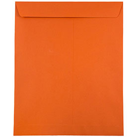 Orange 10 x 13 Envelopes