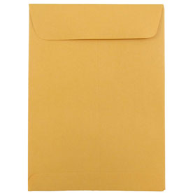 Brown 5 1/2 x 7 1/2 Envelopes