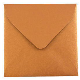 Brown 3 1/8 x 3 1/8 Square Envelopes