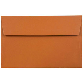Orange A9 Envelopes - 5 3/4 x 8 3/4