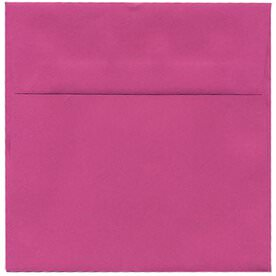 Pink 7 1/2 x 7 1/2 Square Envelopes