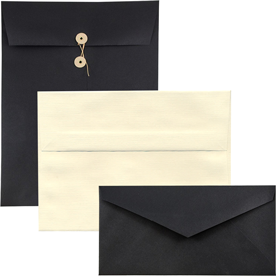 Recycled Linen Envelopes & Paper