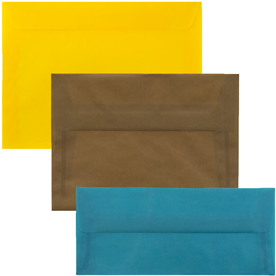Closeout Translucent Vellum Envelopes