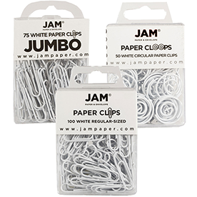 White Paperclips