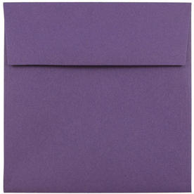 Purple 5 1/2 x 5 1/2 Square Envelopes