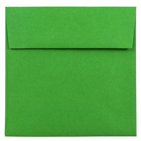 Green 6 x 6 Square Envelopes