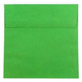 Green 8 1/2 x 8 1/2 Square Envelopes