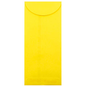 Yellow #12 Envelopes - 4 3/4 x 11