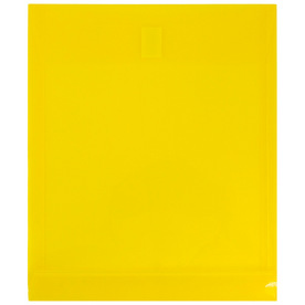 Yellow Letter Open End Plastic Envelopes-9.8x11.8